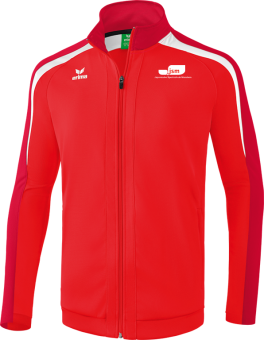 Liga 2.0 Trainingsjacke Japanische Sportschule rot/dunkelrot/weiß   M