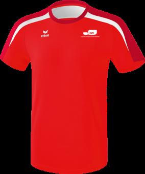 Liga 2.0 T-Shirt Japanische Sportschule rot/dunkelrot/weiß | 4XL