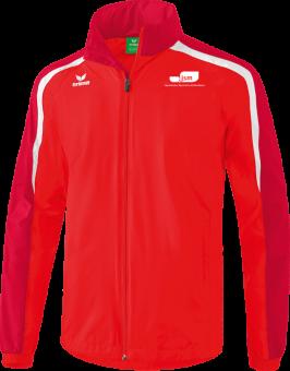 Liga 2.0 Allwetterjacke Japanische Sportschule rot/dunkelrot/weiß | M