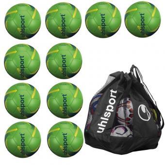 10 x 290 ULTRA LITE SYNERGY Ballpaket + Ballsack grün | 5