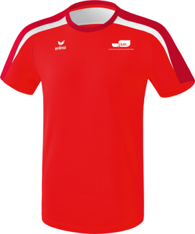 Liga 2.0 T-Shirt Japanische Sportschule rot/dunkelrot/weiß   152