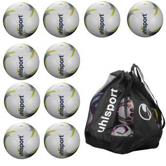 10 x PRO SYNERGY Ballpaket + Ballsack weiß | 5