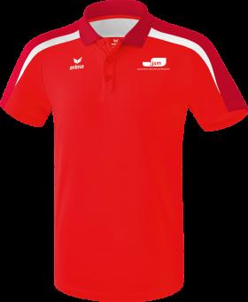 Liga 2.0 Poloshirt Japanische Sportschule rot/dunkelrot/weiß | 4XL