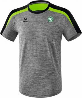 Liga 2.0 T-Shirt SV Waldperlach grau melange/schwarz/green gecko | XXXL