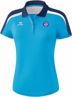 Liga 2.0 Poloshirt MSV Bajuwaren curacao/new navy/weiß | 42