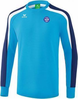 Liga 2.0 Sweatshirt MSV Bajuwaren curacao/new navy/weiß | 4XL