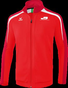 Liga 2.0 Trainingsjacke Japanische Sportschule rot/dunkelrot/weiß | 4XL