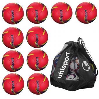 10 x PRO SYNERGY Ballpaket + Ballsack rot | 5
