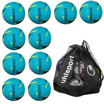 10 x 350 LITE SYNERGY Ballpaket + Ballsack blau | 5