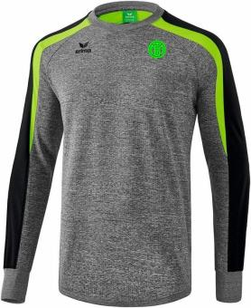 Liga 2.0 Sweatshirt TSV Turnerbund München grau melange/schwarz/green gecko | XL