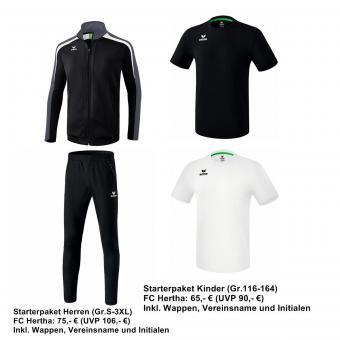 Starterpaket FC Hertha München Herren schwarz/weiss | S