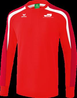 Liga 2.0 Sweatshirt Japanische Sportschule rot/dunkelrot/weiß | L