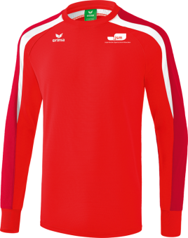 Liga 2.0 Sweatshirt Japanische Sportschule rot/dunkelrot/weiß | XXXL