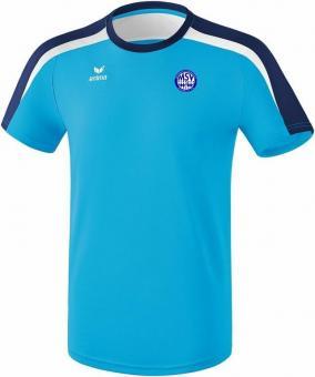 Liga 2.0 T-Shirt MSV Bajuwaren curacao/new navy/weiß | 140